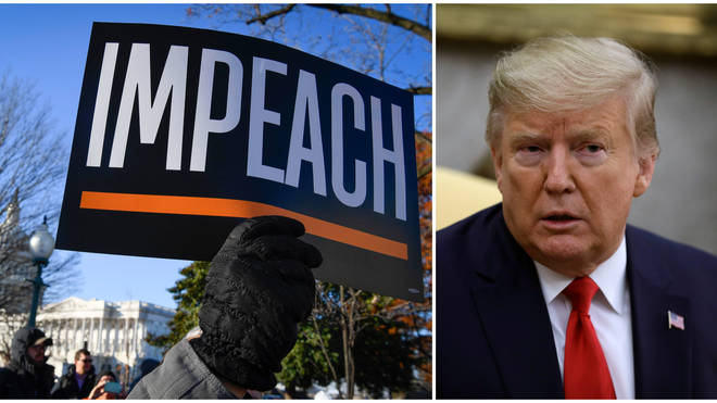 Donald Trump has been impeached by the House of Representatives