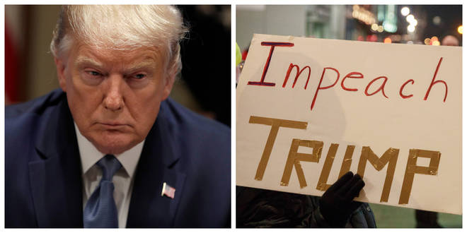 President Donald Trump has been impeached