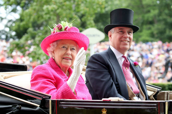 Prince Andrew has stepped back from public duties