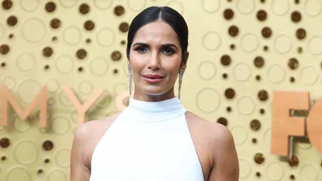 Padma Lakshmi was among anti-Trump celebrities who shared their approval of his impeachment