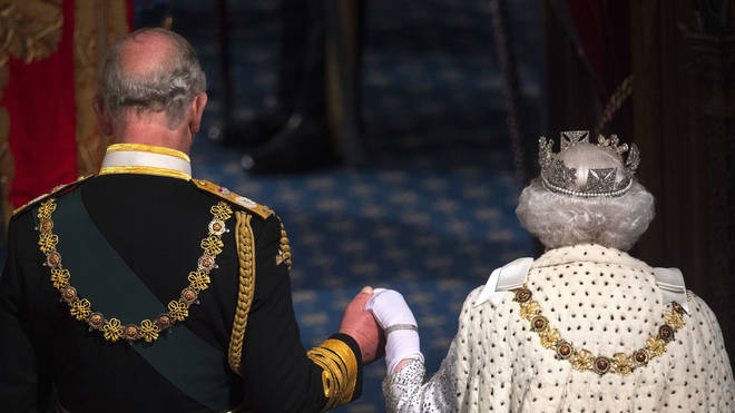 The Queen last opened Parliament just nine weeks ago