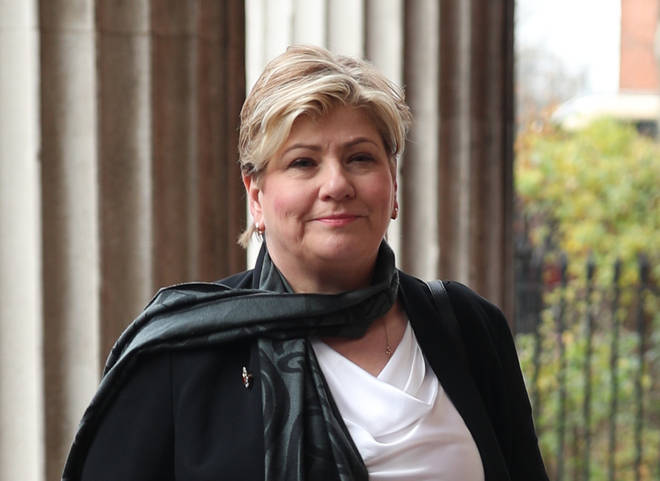 Emily Thornberry announced she was standing in the contest this week