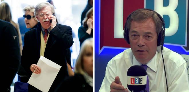 John Bolton/Nigel Farage