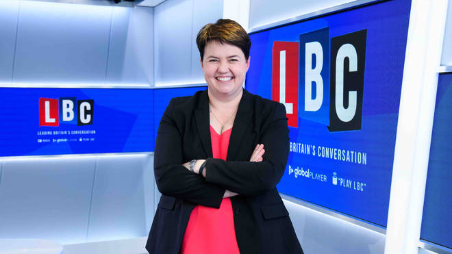 Ruth Davidson joins LBC to present Christmas specials
