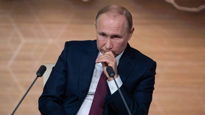 Vladimir Putin was informed about the shooting after holding a news conference
