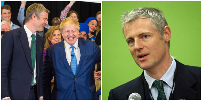Zac Goldsmith has been made a life peer and will keep his position as environment minister