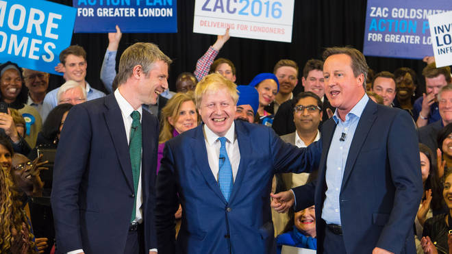 Zac Goldsmith has been a long-time friend of Mr Johnson