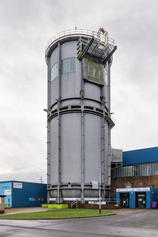 The Vertical Spinning Tunnel, former High Speed Laboratory Complex, Twinwoods Business Park, Milton Ernest, Bedfordshire