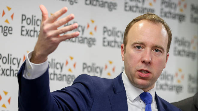 "Health Secretary Matt Hancock said it is ""essential"" NHS staff get the flu jab"