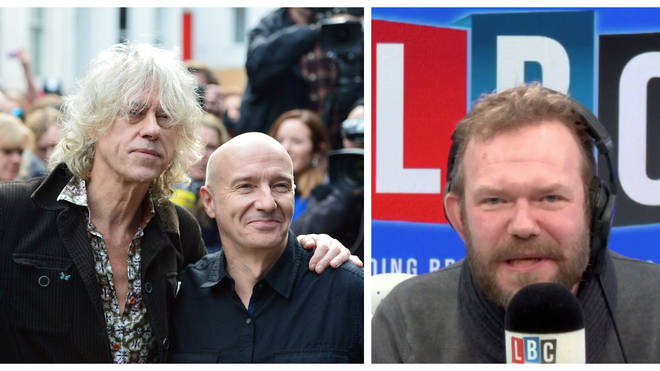 Bob Geldof & Midge Ure call LBC to resolve Mystery Hour question