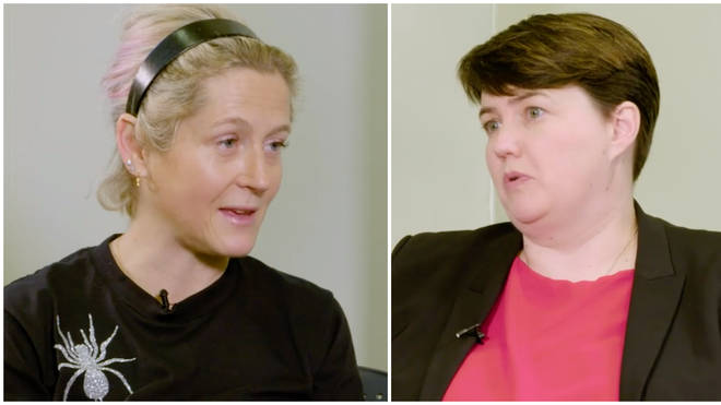 "rexit will be ""pretty bad"" for the tech industry, Martha Lane Fox tells Ruth Davidson"
