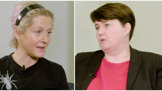 Ruth Davidson and Martha Lane-Fox