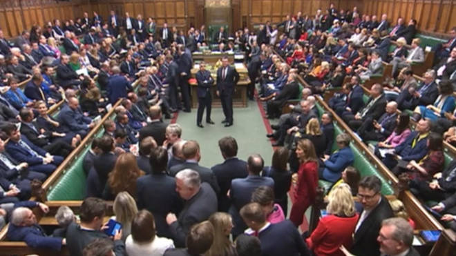 Parliament has voted in favour of the Withdrawal Agreement Bill