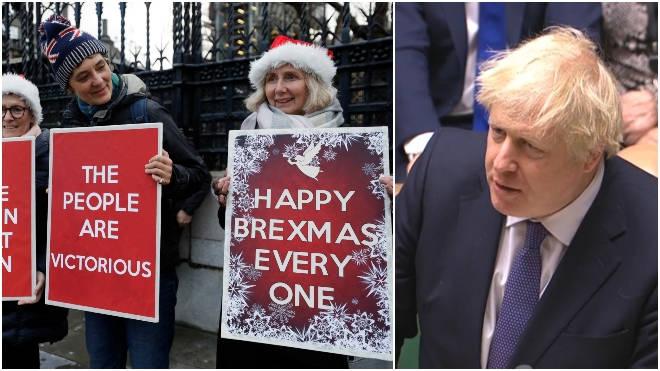 MPs have backed Boris Johnson's Brexit Bill