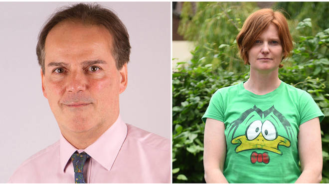 Mark Field was found to have breached the ministerial code for grabbing Ms Barker