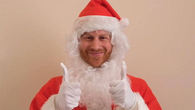 Prince Harry sent a Christmas message to children of British service personnel