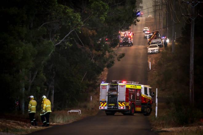 Firefighters battle bushfires in New South Wales