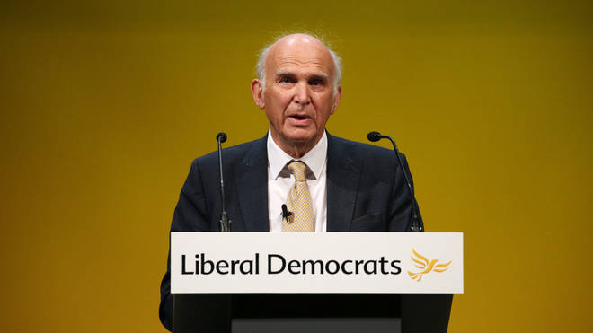 """Sir Vince Cable calls it """"silly"""" for Remainers to want to rejoin the EU"""