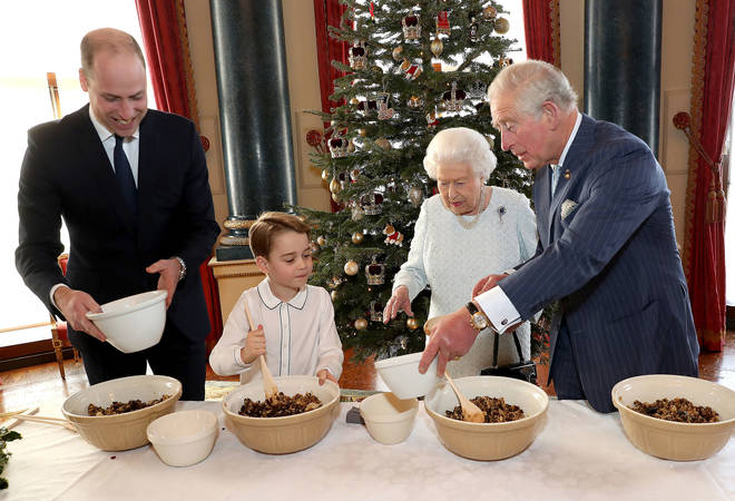 The Royals were baking in Buckingham Palace
