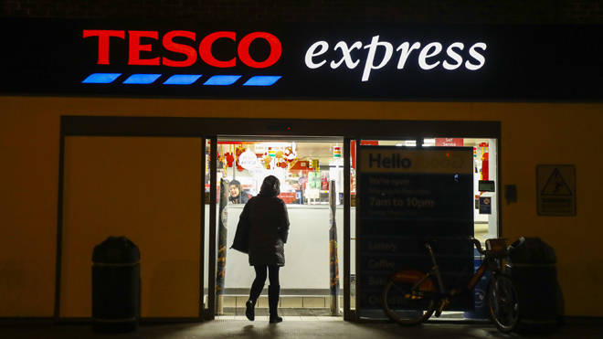 Tesco has halted card production at the factory in China