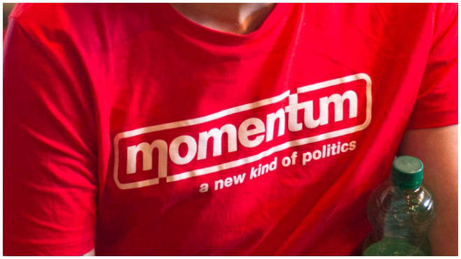 Momentum were set up as a campaign movement to assist Labour leader Jeremy Corbyn