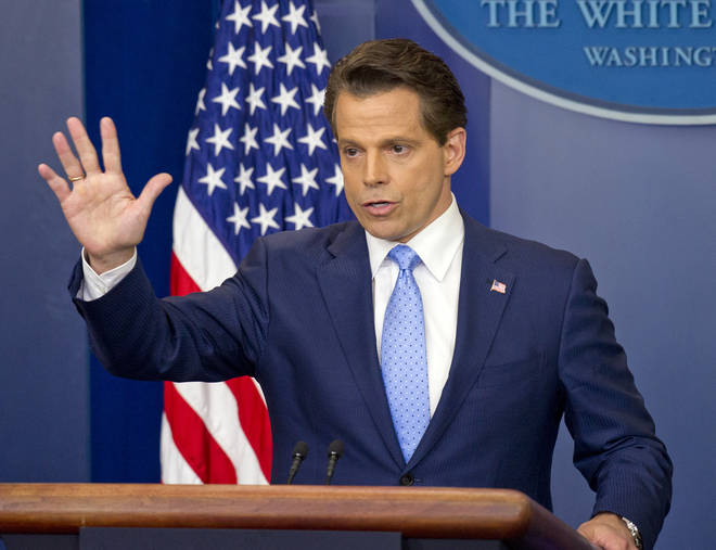 Anthony Scaramucci has spoken out against his former boss