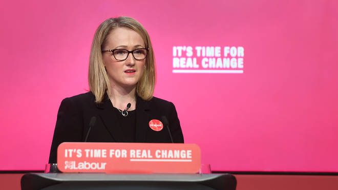 Rebecca Long-Bailey came under fire from one caller