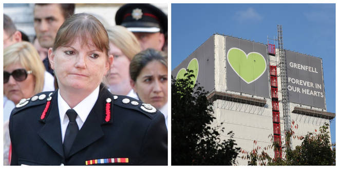 Dany Cotton (left) will stand down on New Year's Eve