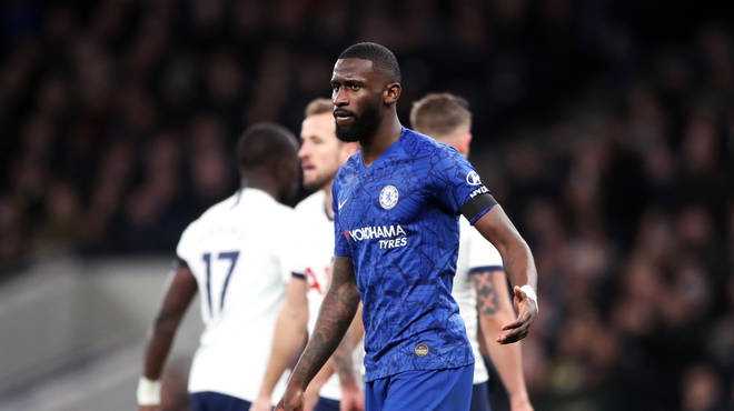 Antonio Rudiger reported racist chanting during the game