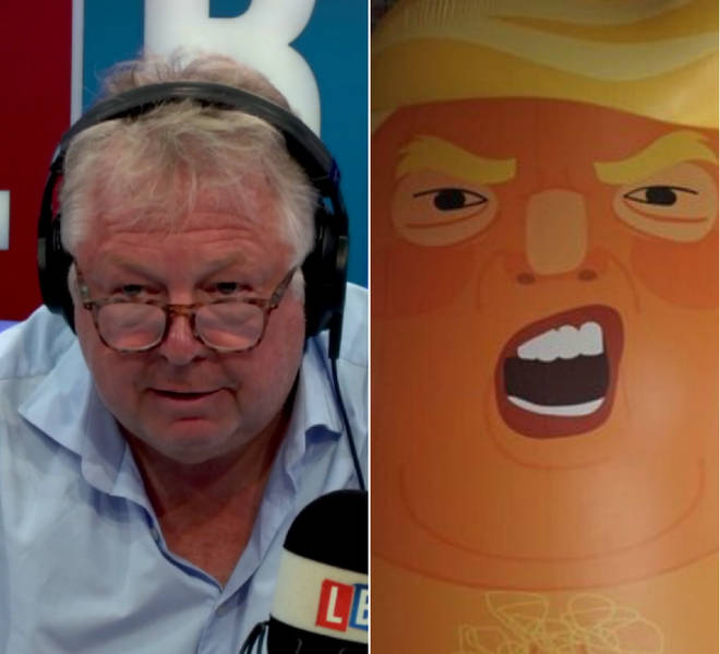Nick Ferrari and the angry baby Trump