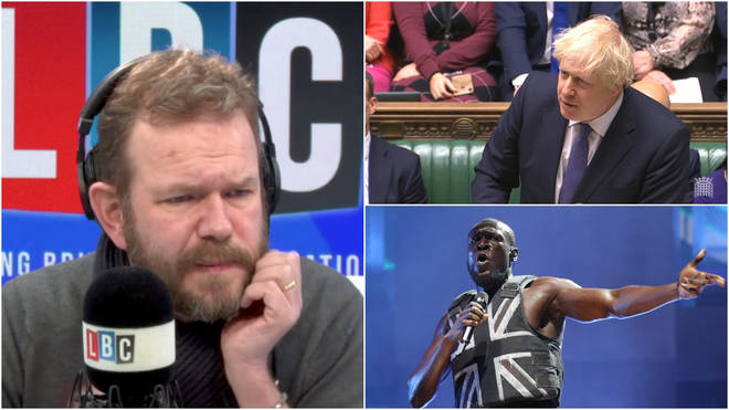 James O'Brien asked why the media treat Boris Johnson differently to Stormzy