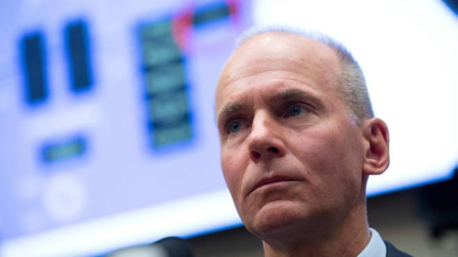 Boeing chief executive Dennis Muilenburg has resigned