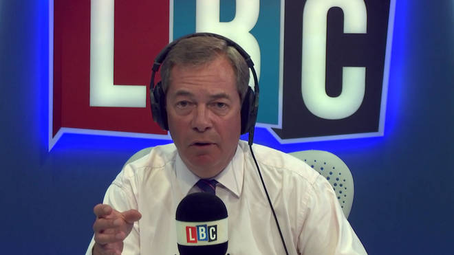 Nigel Farage was asked to answer a question that no Brexiteer can answer