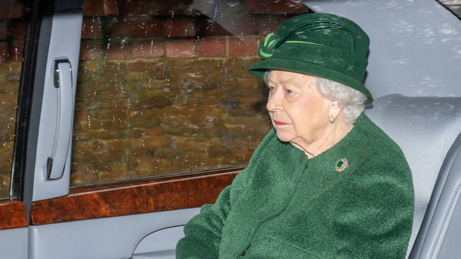 The Queen could be spending Christmas without her husband who is in hospital;l