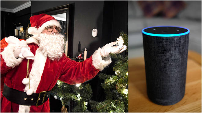 Technology is increasingly replacing mince pies as a Santa detector