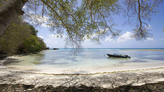 The private island of Mustique