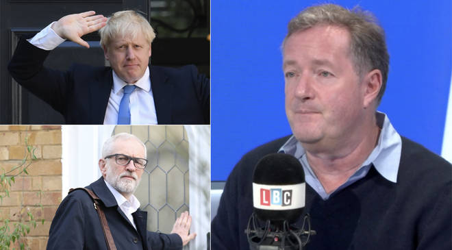 Piers Morgan revealed who he voted for