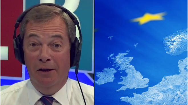 Nigel Farage told of his love for Europe