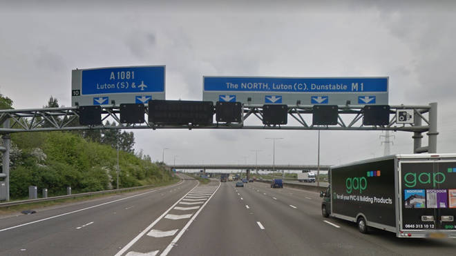 Parts of the M1 remain closed on Christmas Day