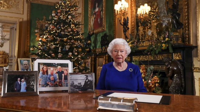The Queen addressed the nation on Christmas Day