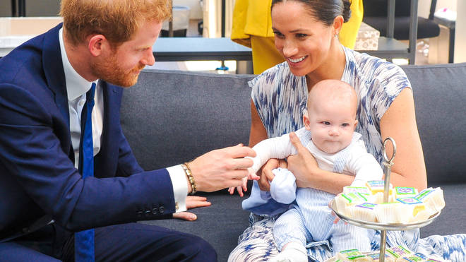 Harry and Meghan's first child was a highlight of the Queen's Christmas message