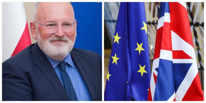 European Commission vice president Frans Timmermans