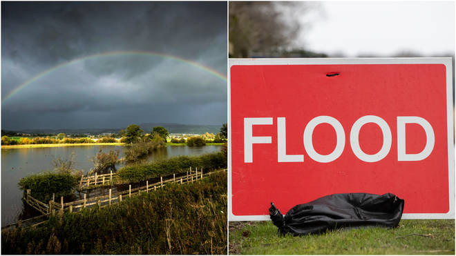 Dozens of flood warnings remain in place