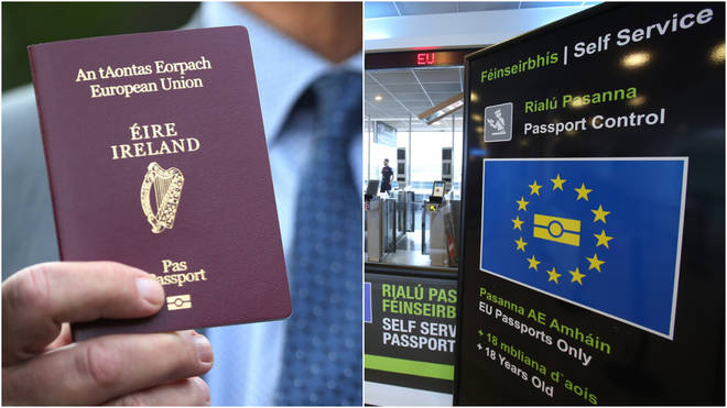 Holders of Irish passports retain the right to work in the EU after Brexit