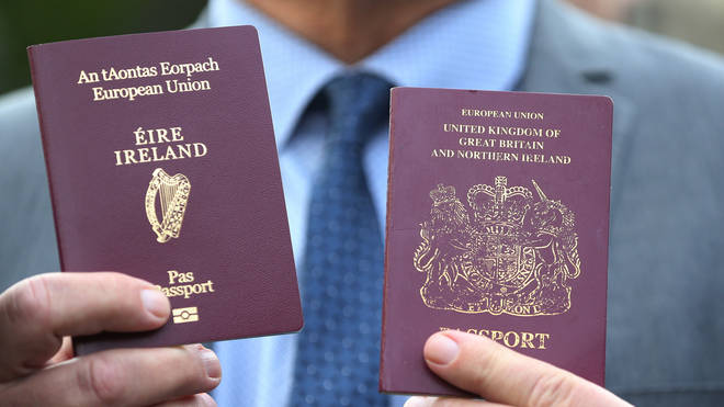 Irish passport holders will have some rights holders of a British passport do not after Brexit