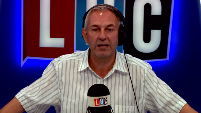 Kevin Maguire in the LBC studio.