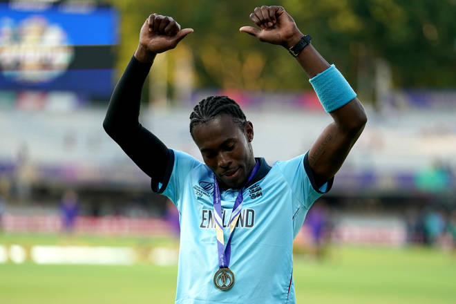 Jofra Archer was a notable omission from the Honours List