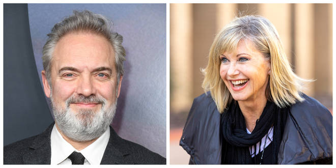 Sam Mendes (left) and Olivia Newton-John are among those honoured on the list