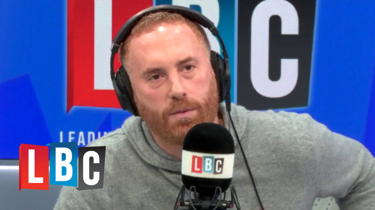 """Caller explains why he now feels """"embarrassed to be a British white"""""""