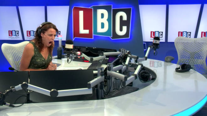 Beverley Turner was shocked by this callers' comments.